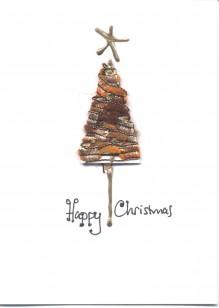 Textured Wool Christmas Tree